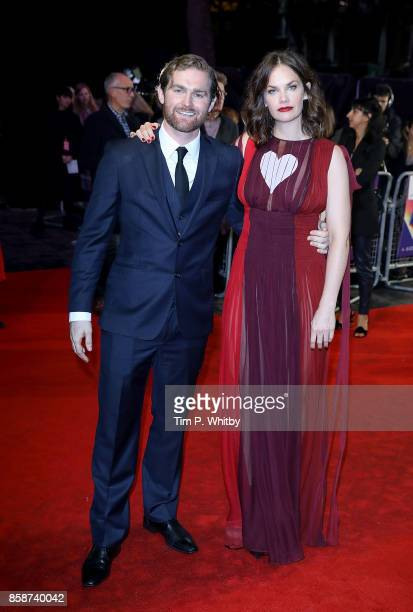 Mark Stanley and Ruth Wilson attend the Special Presentation European Premiere of 'Dark River' during the 61st BFI London Film Festival on October 7...