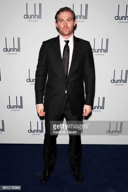 Mark Stanley wearing dunhill attends the dunhill and Dylan Jones preBAFTA dinner and cocktail reception celebrating Gentlemen in Film at Bourdon...