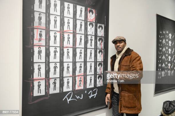 Mark Stark attends Robert Whitman Presents Prince 'Pre Fame' Private Viewing Event Exclusively On Vero on December 14 2017 in New York City