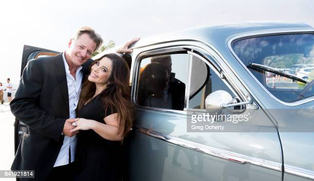 Mark Steven proposes to Brooke Lewis on September 1 2017 at the Griffith Observatory in Los Angeles California