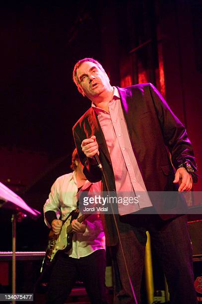 Mark Stewart of The Pop Group performs on stage at Sala Apolo during the San Miguel Primavera Club Festival 2011 on November 24 2011 in Barcelona...