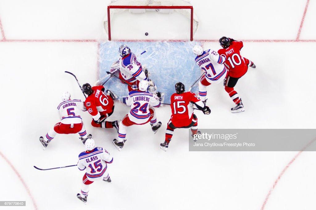 New York Rangers v Ottawa Senators - Game Five : Nachrichtenfoto