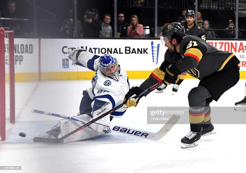 Tampa Bay Lightning v Vegas Golden Knights : News Photo