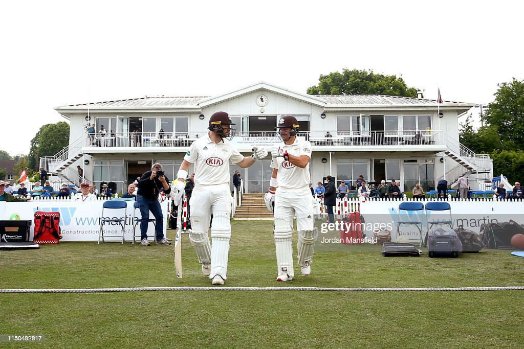 GBR: Kent v Surrey - Specsavers County Championship: Division One
