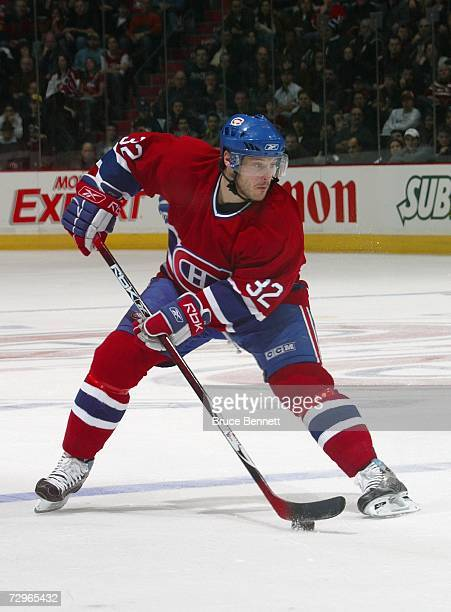 Mark Streit of the Montreal Canadiens skates against the Tampa Bay Lightning during their NHL game at Bell Centre on January 2 2007 in Montreal...