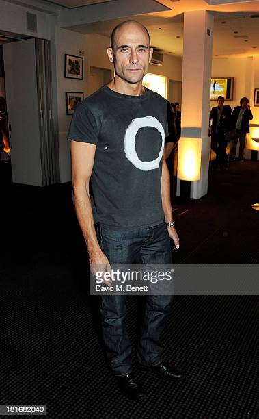 Mark Strong attends a special screening of 'Sunshine On Leith' hosted by Jamie Oliver and Dexter Fletcher at BAFTA on September 23 2013 in London...
