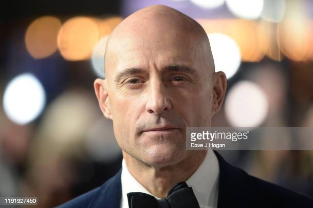 """Mark Strong attends the """"1917"""" World Premiere and Royal Performance at Odeon Luxe Leicester Square on December 04, 2019 in London, England."""