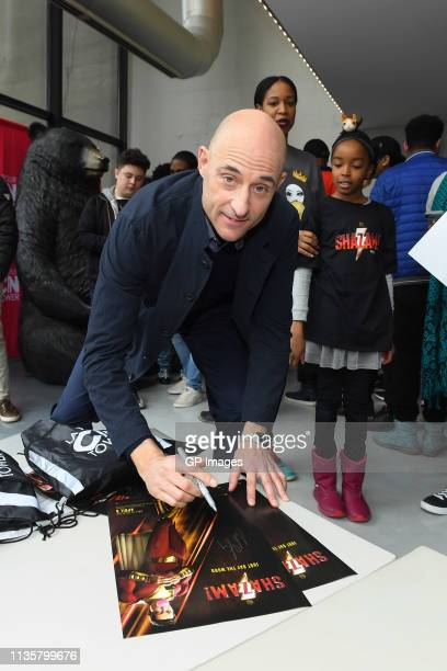 Mark Strong attends the Big Brothers And Sisters meet and greet at Canada's CN Tower on March 14, 2019 in Toronto, Canada.
