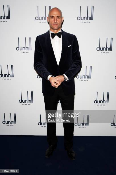 Mark Strong attends the dunhill and Dylan Jones pre-BAFTA dinner and cocktail reception celebrating Gentlemen in Film at Bourdon House on February 8,...