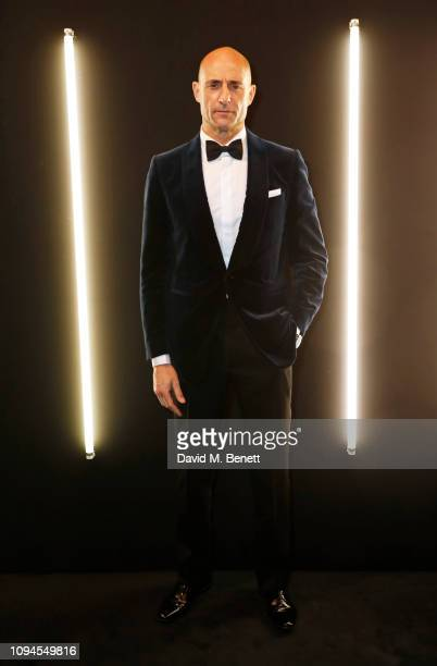 Mark Strong attends the dunhill PreBAFTA dinner at dunhill Bourdon House on February 6 2019 in London England