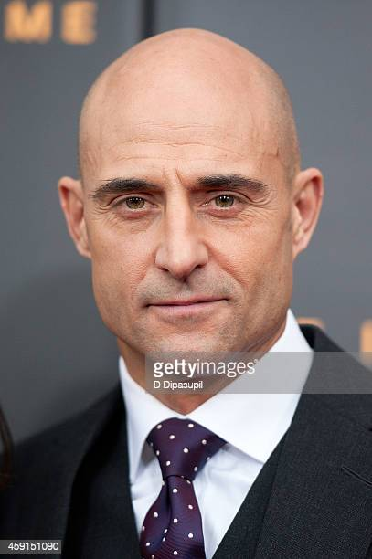 """Mark Strong attends """"The Imitation Game"""" New York Premiere at the Ziegfeld Theater on November 17, 2014 in New York City."""