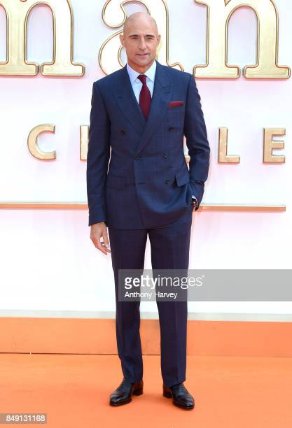 Mark Strong attends the 'Kingsman The Golden Circle' World Premiere held at Odeon Leicester Square on September 18 2017 in London England
