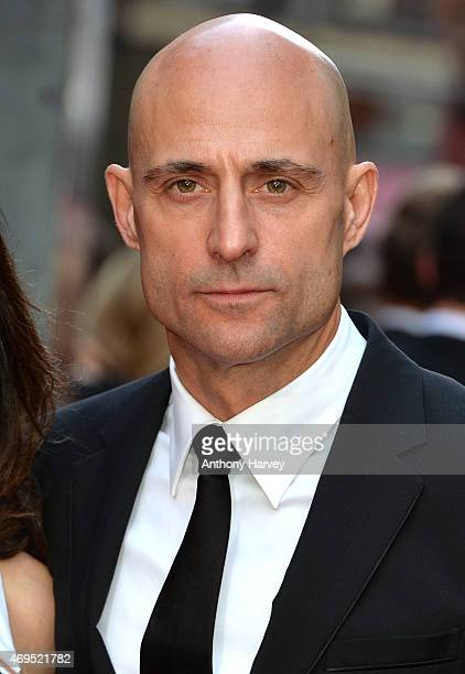 Mark Strong attends The Olivier Awards at The Royal Opera House on April 12 2015 in London England