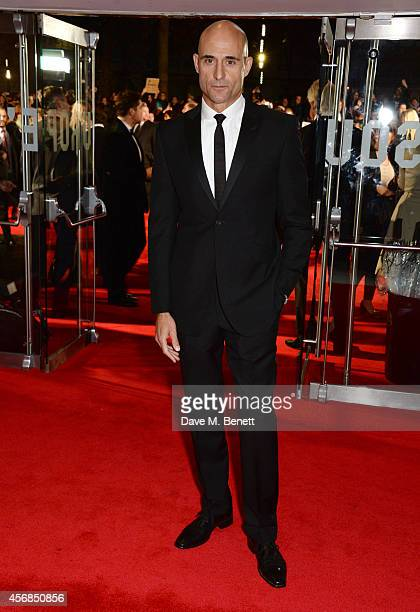 """Mark Strong attends the Opening Night Gala Screening of """"The Imitation Game"""" during the 58th London Film Festival at Odeon Leicester Square on..."""