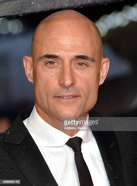 Mark Strong attends the opening night gala screening of The Imitation Game during the 58th BFI London Film Festival at Odeon Leicester Square on...