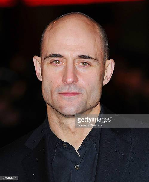 Mark Strong attends the UK Film Premiere of 'Kick Ass' at Empire Leicester Square on March 22 2010 in London England