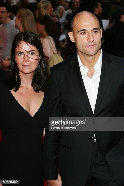Mark Strong attends the world premiere of RocknRolla at Odeon West End on September 1 2008 in London England