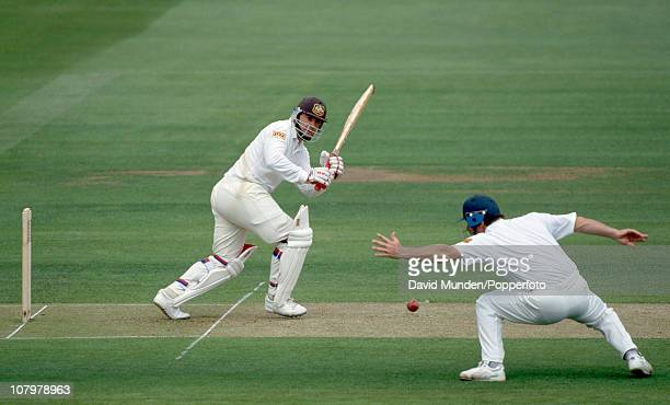 Mark Taylor batting for Australia during the 2nd Test match between England and Australia at Lord's Cricket Ground in London 17th June 1993 Australia...