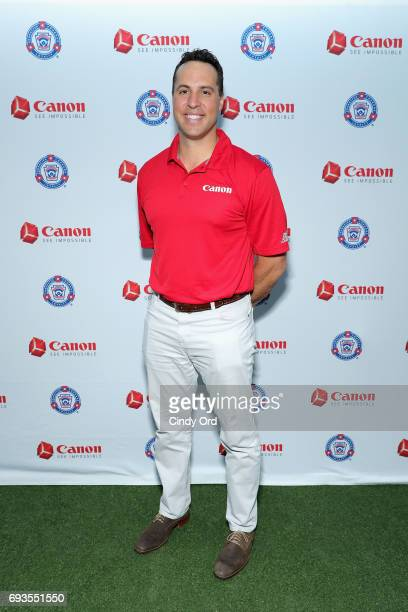 Mark Teixeira at the Canon PIXMA Perfect Grand Slam event on June 7 2017 in New York City