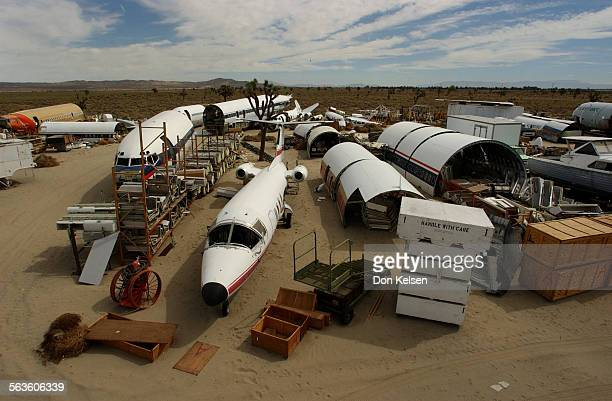 – Mark Thomson manages Aviation Warehouse a wonderful airplane salvageyard that caters to the Hollywood movie industry A 175 acre facility in El...