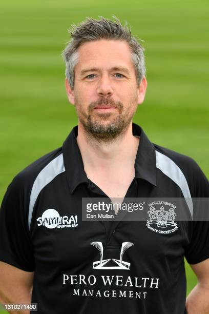 Mark Thorburn, High Performance Analyst & Pace Bowling Coach of Gloucestershire poses during the Gloucestershire County Cricket Club Photocall at...