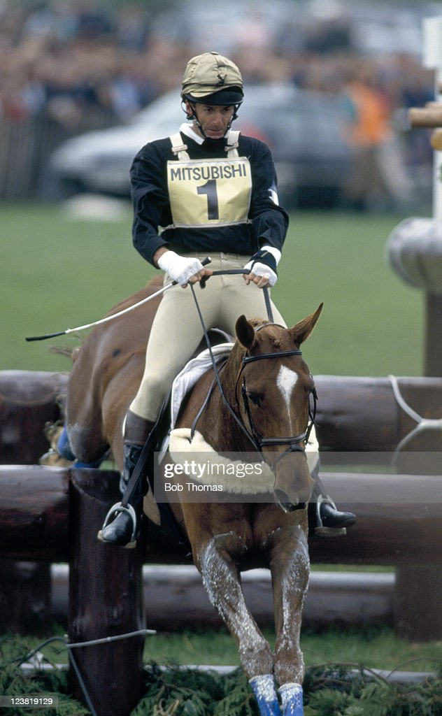 Mark Todd of New Zealand riding his horse Horton Point who went on to...  News Photo - Getty Images