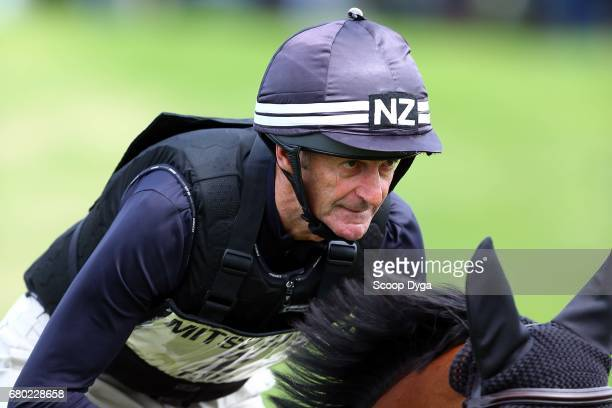 Mark Todd riding LEONIDAS II during the cross country phase of the 2017 Badminton Horse Trials on May 7 2017 in Badminton Gloucestershire