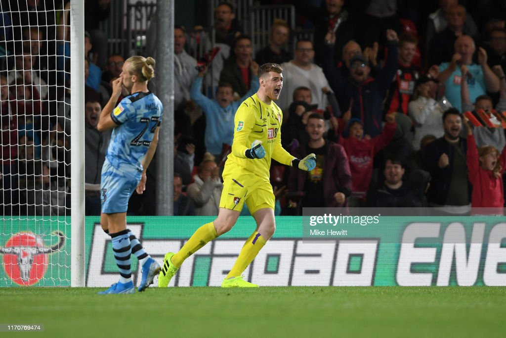 AFC Bournemouth v Forest Green Rovers - Carabao Cup Second Round : News Photo