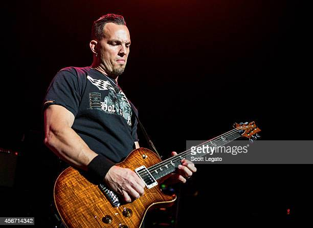 Mark Tremonti of Alter Bridge performs at The Fillmore Detroit on October 5 2014 in Detroit Michigan