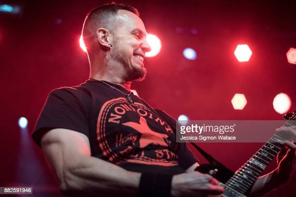Mark Tremonti of Alter Bridge performs onstage at Iron City on November 29 2017 in Birmingham Alabama