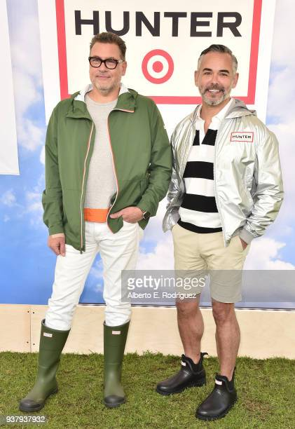 Mark Tritton Rick Gomez attend the Hunter For Target Ultimate Family Festival at Brookside Golf Club on March 25 2018 in Pasadena California