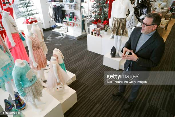 Mark Tritton Target Chief Merchandising officer gave a preview of its holiday merchandise Wednesday October 19 2016 in Minneapolis MN ] Jerry Holt /...