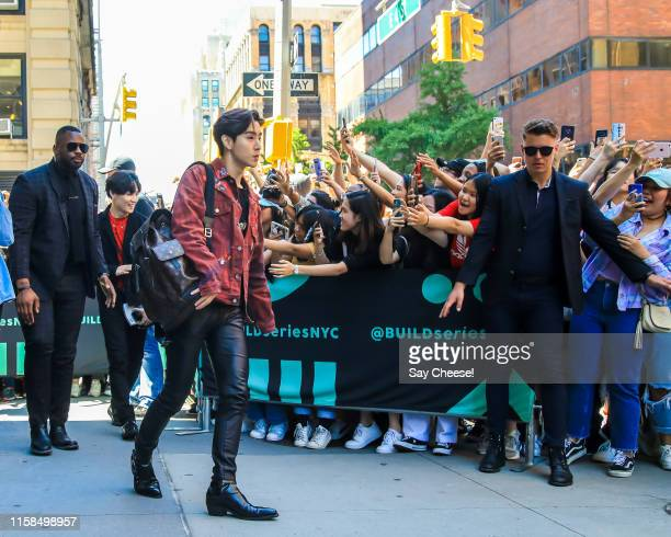 Mark Tuan from GOT7 is seen at AOL Build on June 26, 2019 in New York City.