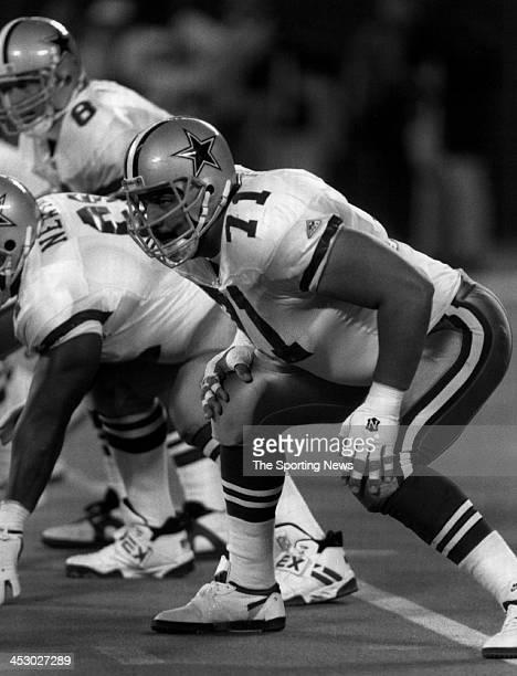 Mark Tuinei of the Dallas Cowboys circa 1989 in Irving Texas