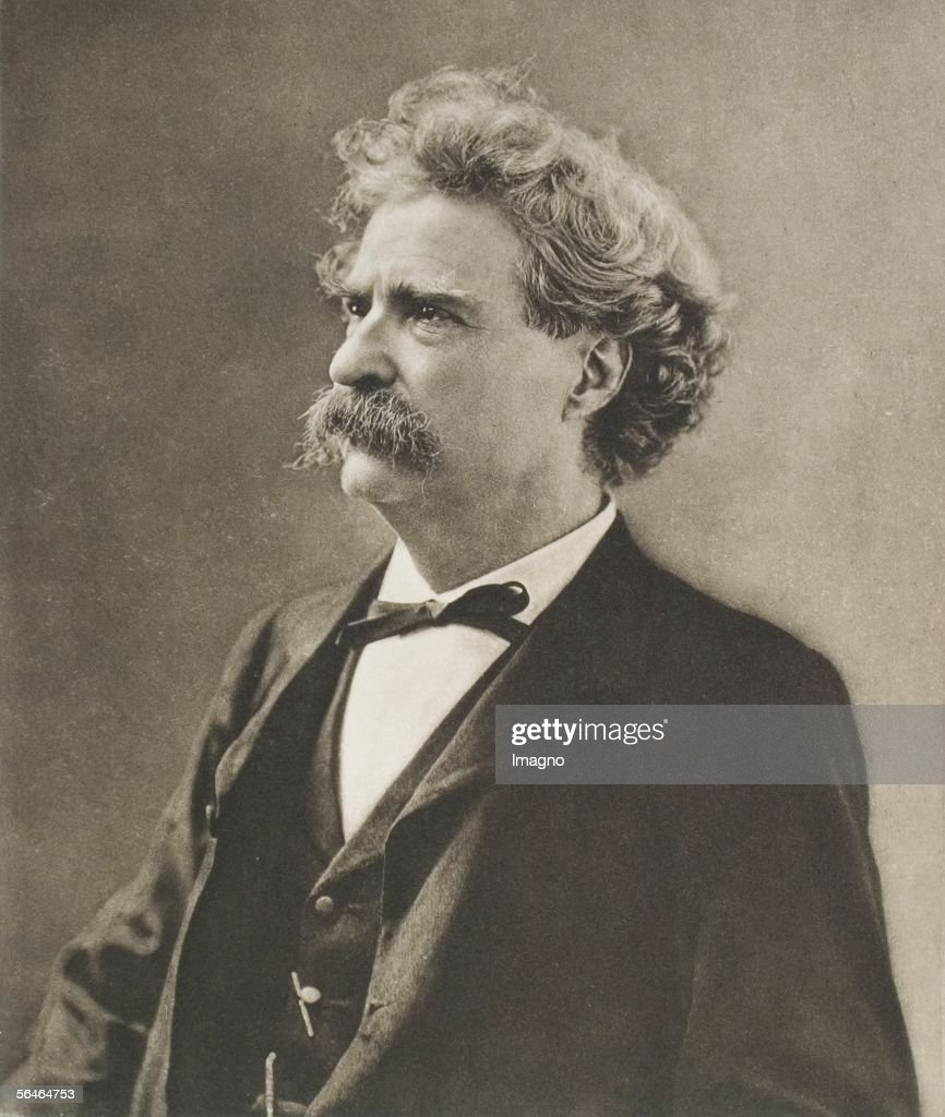 Mark Twain : News Photo