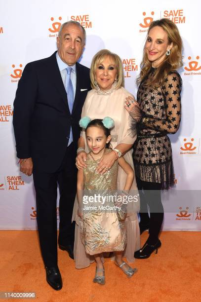 Mark Udell Candy Udell and Randi Udell attend Best Friends Animal Society's Benefit to Save Them All at Gustavino's on April 02 2019 in New York City