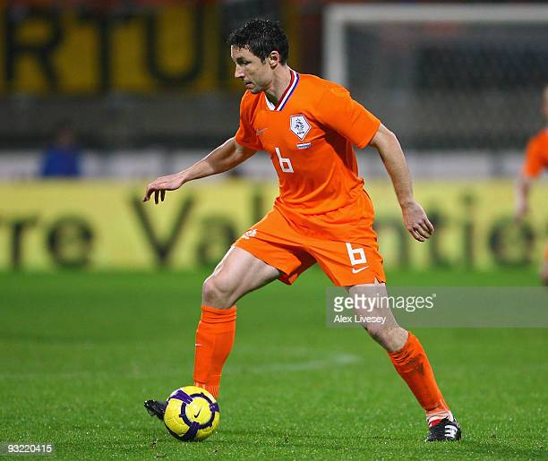 Mark van Bommel of Netherlands during the International Friendly match between Netherlands and Paraguay at the Abe Lenstra Stadium on November 18...
