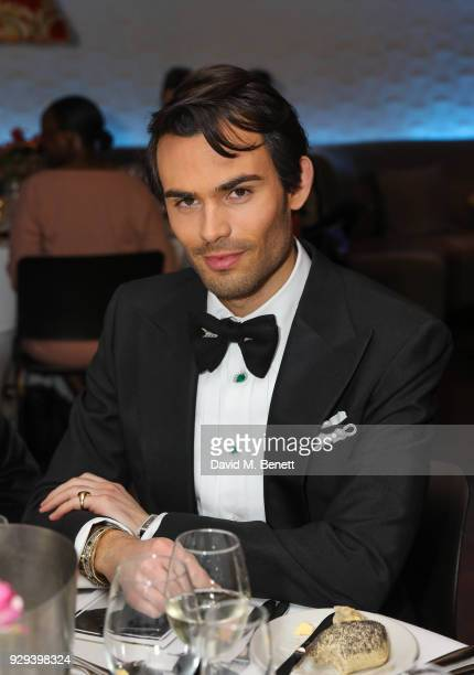 Mark Vandelli attends The BARDOU Foundation's International Women's Day IWD private dinner at The Hospital Club on March 8 2018 in London England