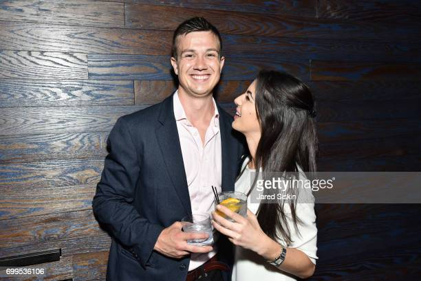 Mark VeeversCarter and Gabrielle Newman attend The Junior Board of The TEAK Fellowship Presents A Midsummer Night at PhD Lounge at the Dream Downtown...