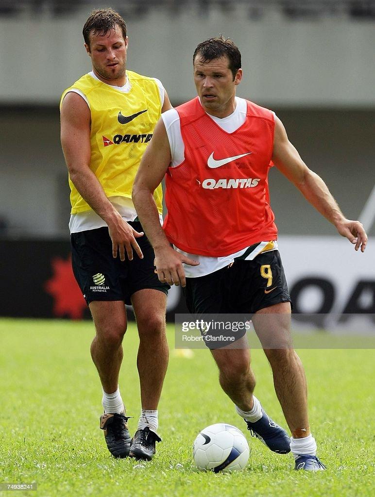 Socceroos Training Session