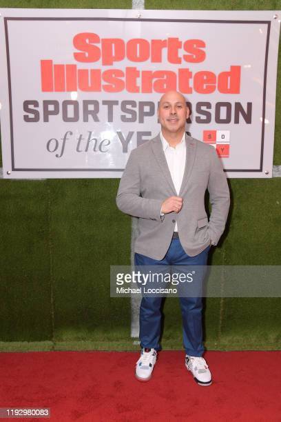 Mark Viera attends the 2019 Sports Illustrated Sportsperson Of The Year at The Ziegfeld Ballroom on December 09 2019 in New York City
