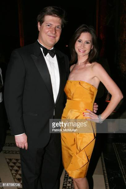 Mark W Smith and Rebecca Jarvis attend The American Theatre Wing's 2010 Annual Spring Gala at Cipriani's 42nd St on June 7 2010 in New York