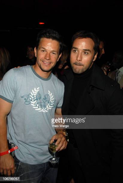 """Mark Wahlberg and Jeremy Piven during """"Entourage"""" Season 4 Premiere - After Party at Roseland Ballroom in New York City, New York, United States."""