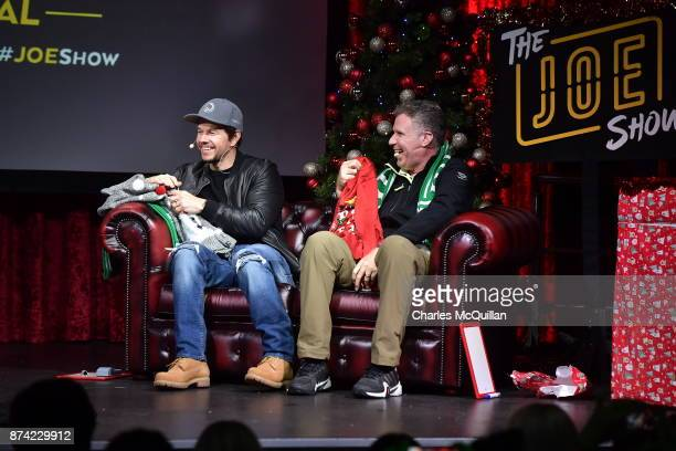 Mark Wahlberg and Will Ferrell attends a 'Daddy's Home 2' fan event at The Academy on November 14 2017 in Dublin Ireland