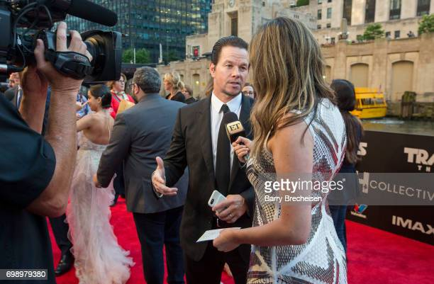 Mark Wahlberg appears at the Transformers The Last Knight Chicago premiere at Civic Opera Building on June 20 2017 in Chicago Illinois