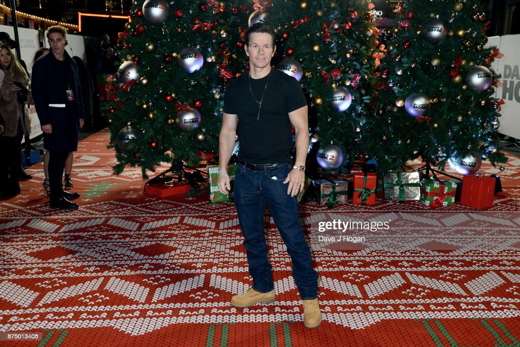 Mark Wahlberg arrives at the UK Premiere of 'Daddy's Home 2' at Vue West End on November 16, 2017 in London, England.