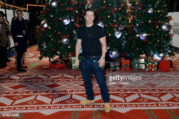 Mark Wahlberg arrives at the UK Premiere of 'Daddy's Home 2' at Vue West End on November 16 2017 in London England