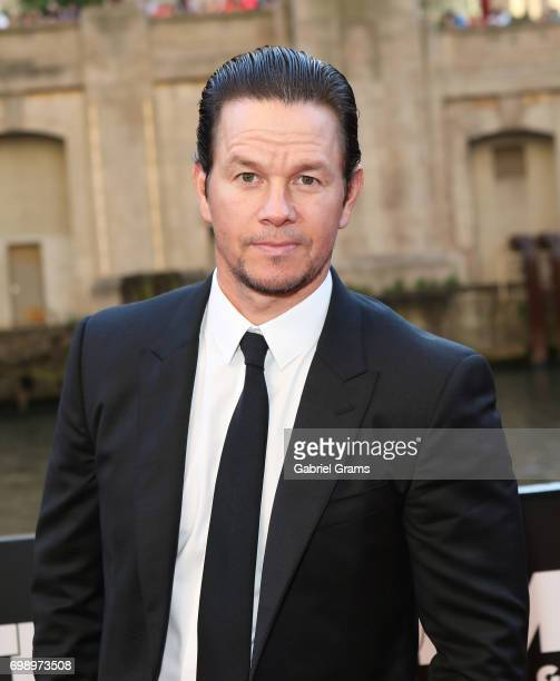 Mark Wahlberg arrives for the premiere of 'Transformers The Last Knight' at Civic Opera Building on June 20 2017 in Chicago Illinois
