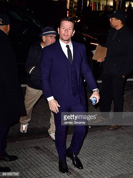 Mark Wahlberg arrives to the 2016 National Board of Review Gala at Cipriani 42nd Street on January 4 2017 in New York City