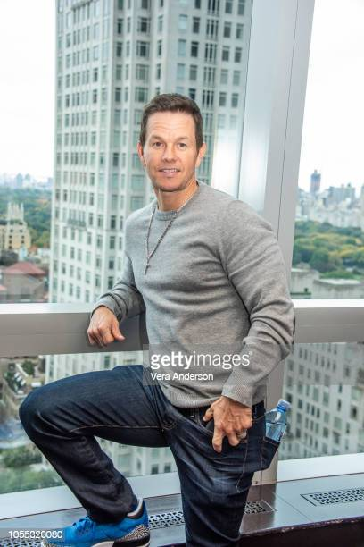 Mark Wahlberg at the Instant Family Press Conference at the Mandarin Oriental Hotel on October 28 2018 in New York City